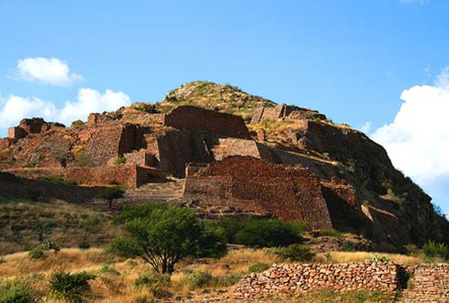 sitio arqueológico La Quemada Zacatecas. Foto NTR Zacatecas