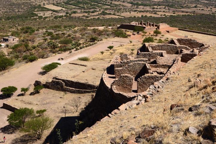Sitio arqueológico La Quemada Zacatecas. Foto_ INAH