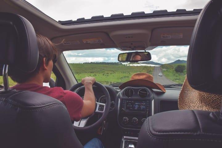 viaje en carro