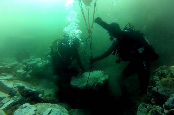 Ciudades bajo el agua que puedes explorar Foto Historia national