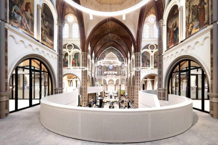 La iglesia que se convirtió en biblioteca Foto Arch daly