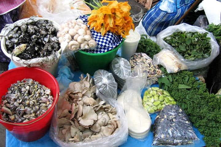 Alimentos Mexicas Ingredientes Foto Wikimedia