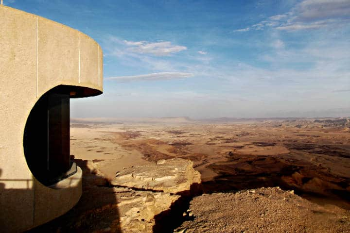 Desierto de Négev en Israel Centro Mizpe Foto Israels Good Name
