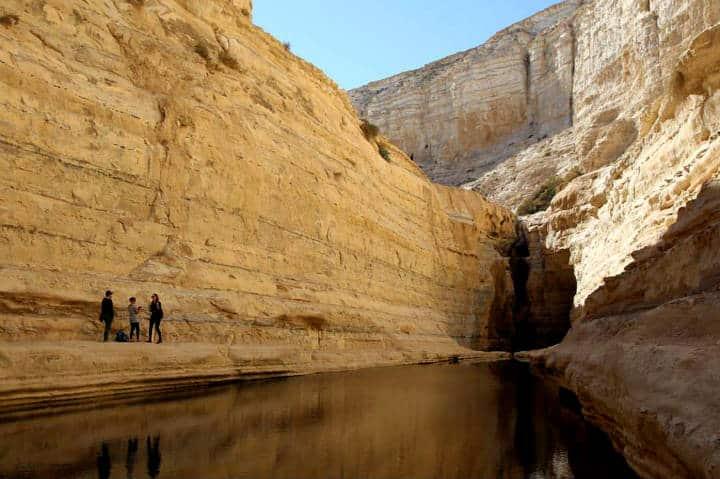 Desierto de Négev en Israel Foto Apunts de Viatge