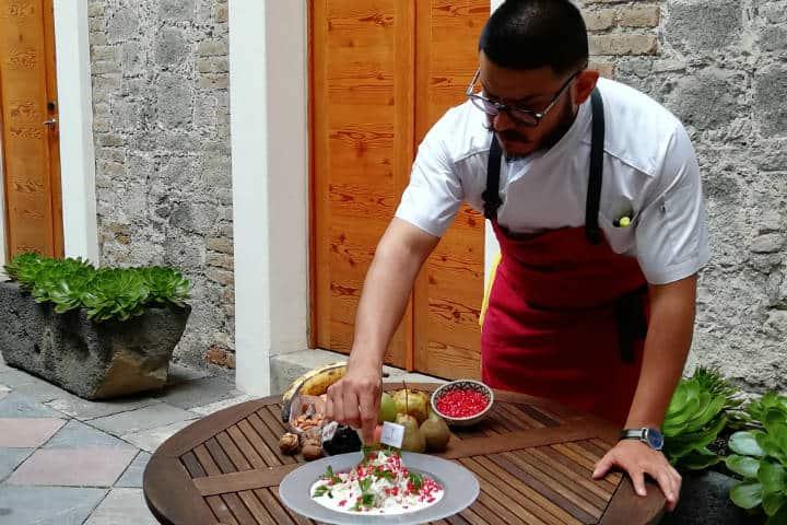 Dónde comer Chiles en Nogada en Puebla Foto El Souvenir 10