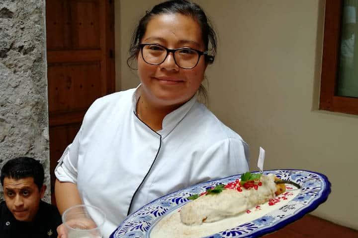 Dónde comer Chiles en Nogada en Puebla Foto El Souvenir 15