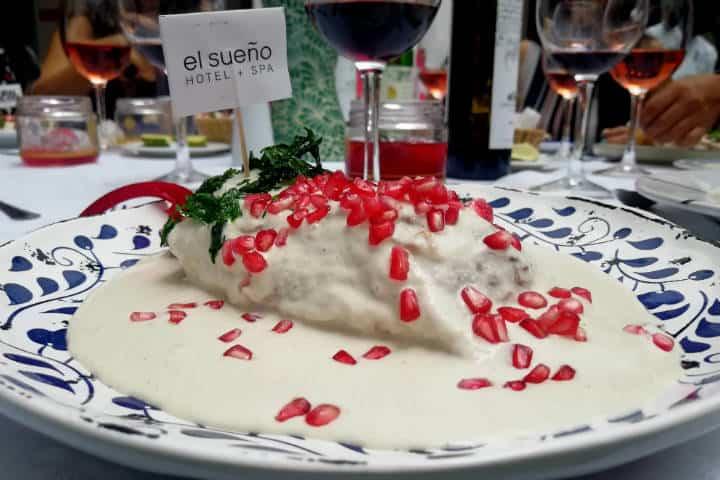 Dónde comer Chiles en Nogada en Puebla Foto El Souvenir 3