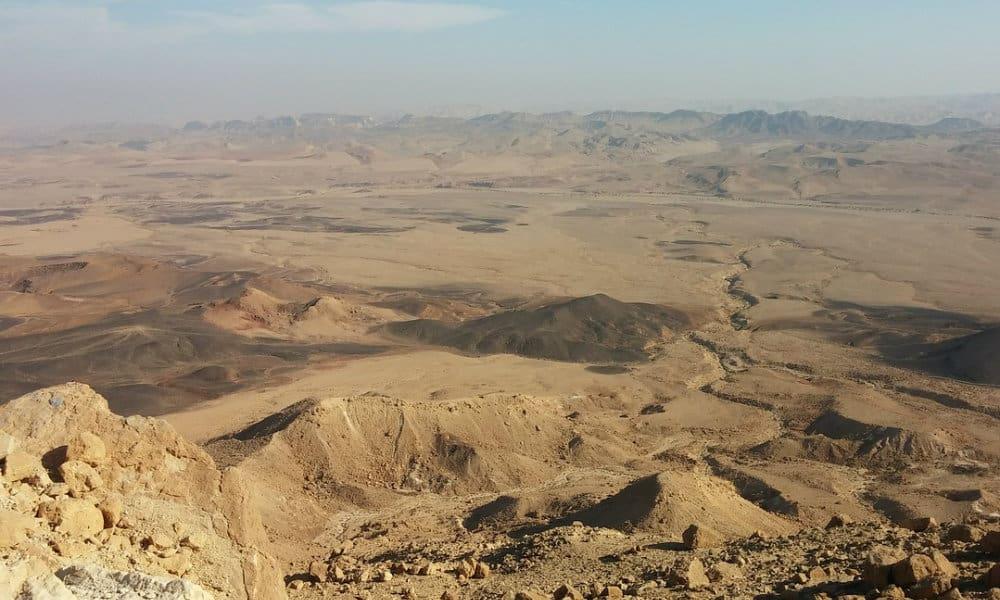 El desierto alucinante de Israel Foto. Pixabay