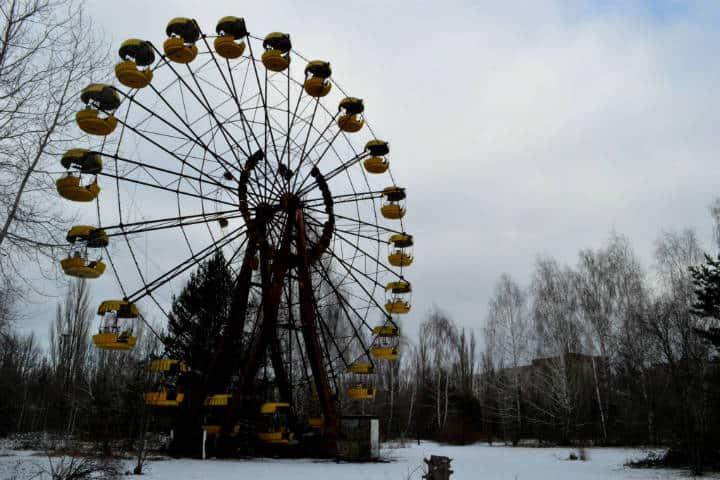 Energía limpia desde Chernóbil Foto Ian Bancroft