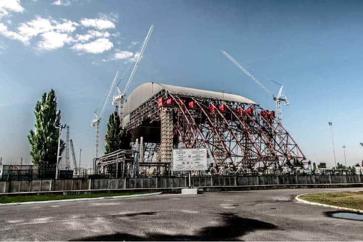 Energía limpia desde Chernóbil Foto Kamil Porembinski