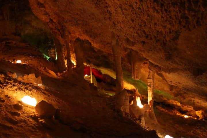 Grutas de Coyame Chichuahua Foto IZ Photo
