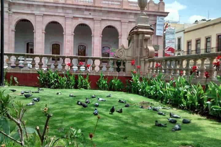 Jardín Independencia. Foto Imagen Zacatecas