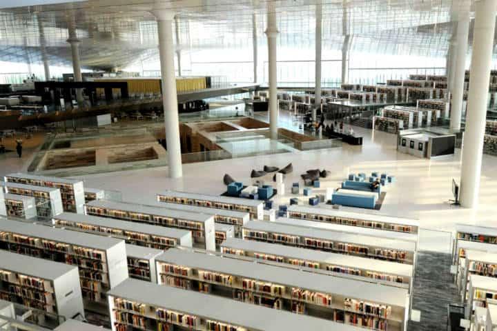 La iglesia que se convirtió en biblioteca Foto Unreserved