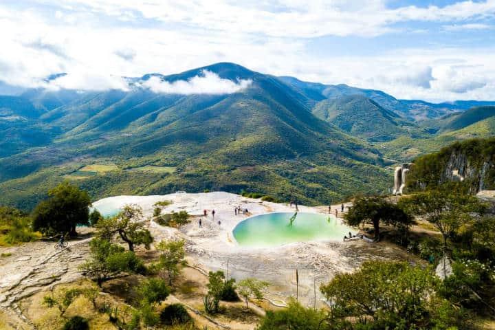 Monte Albán y Hierve el Agua. Foto. Oaxaca. Journey Wonders