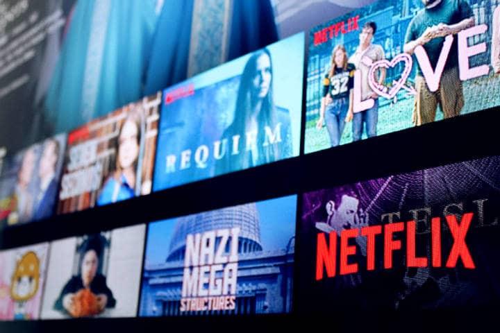 Producciones de Netflix Foto Stock Catalog