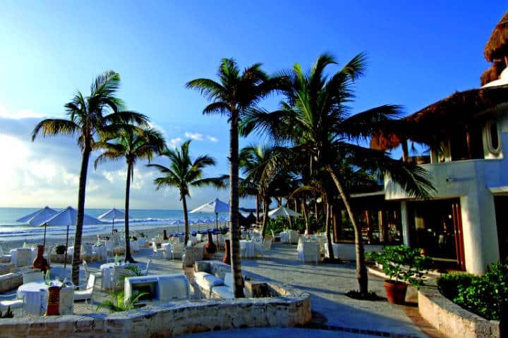 Punta Maroma, una de las mejores playas del mundo Foto Comisión Mexicana