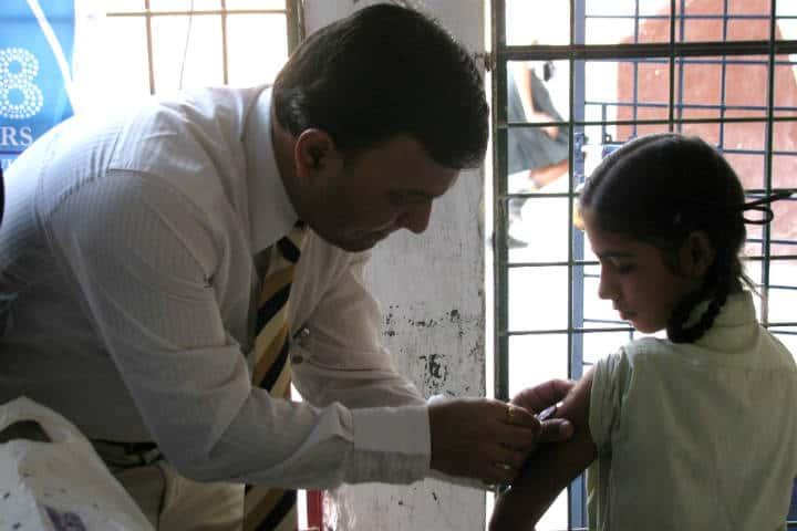 Qué vacunas necesitas Foto Rotary Club of Nagpur