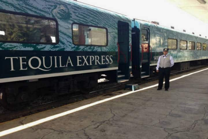 Tren Tequila express. Foto Jose Maria Delpuente