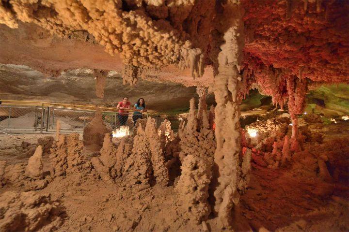 Tu experiencia Foto: fósiles de dinosaurios en Grutas de Coyame Chihuahua