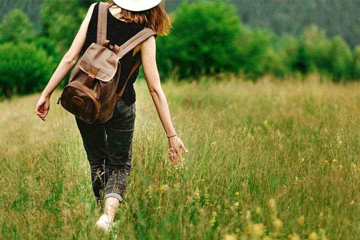 Viajar durante la regla Foto Naturelia