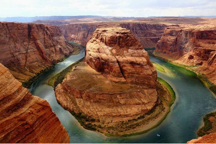 Visitar el Gran Cañon del Colorado Foto Horseshoe bend Leolytics