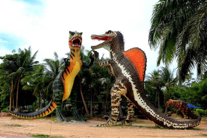 4 lugares para ver dinosaurios en CDMX Foto Somchai