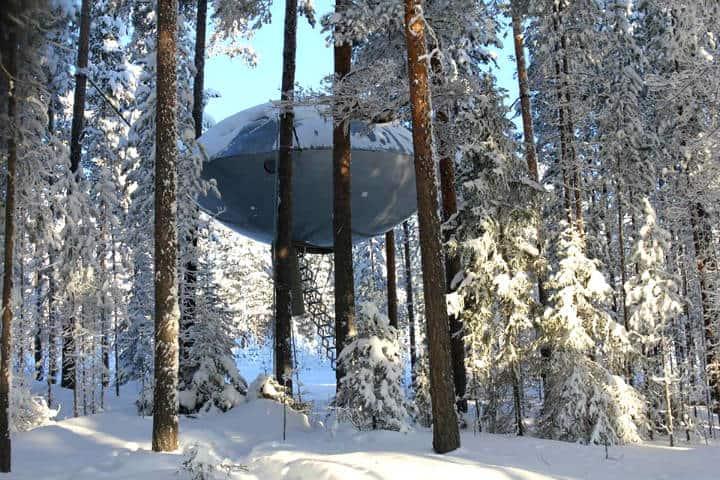 Habitacion Ufo.Foto Treehotel