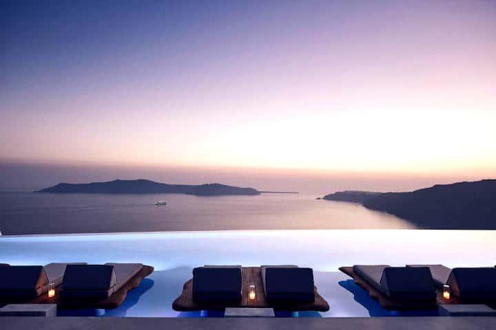 5 Infinity Pools alrededor del mundo Foto Cavo Tagoo Hotel