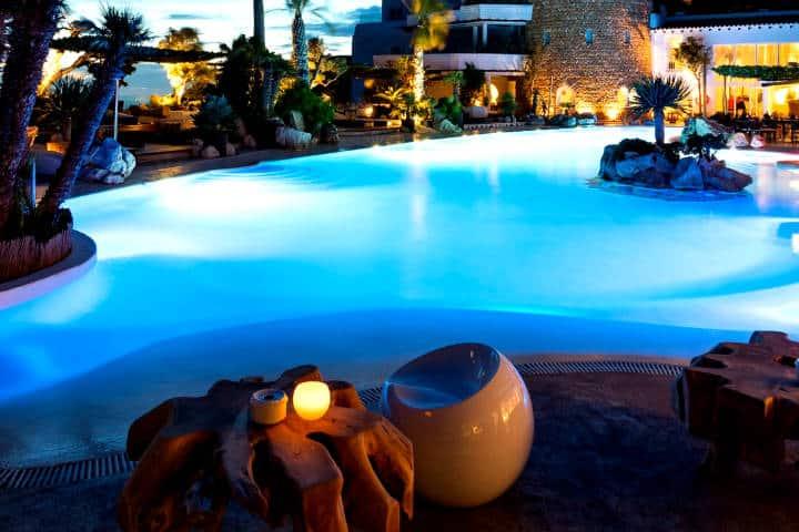 5 Infinity Pools alrededor del mundo Foto Hotel Hacianda Na Xamena