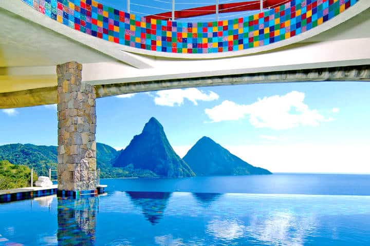 Jade Mountain Resort Foto: Jade Mountain Resort