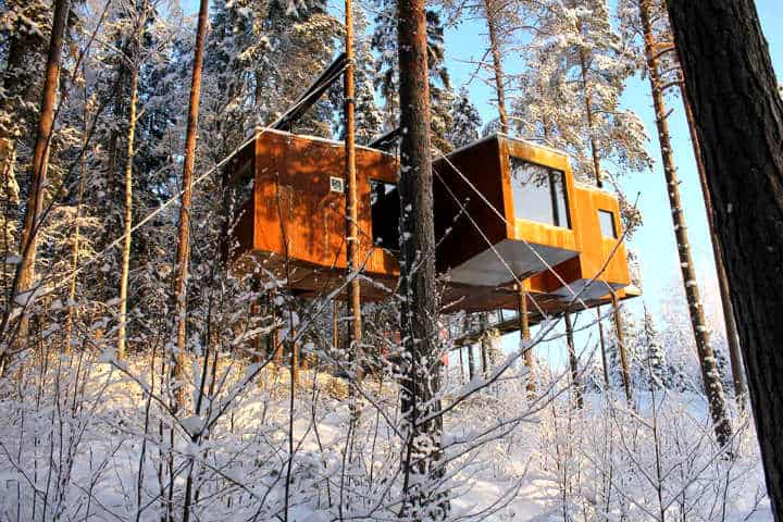 The Blue Cone. Foto Treehotel