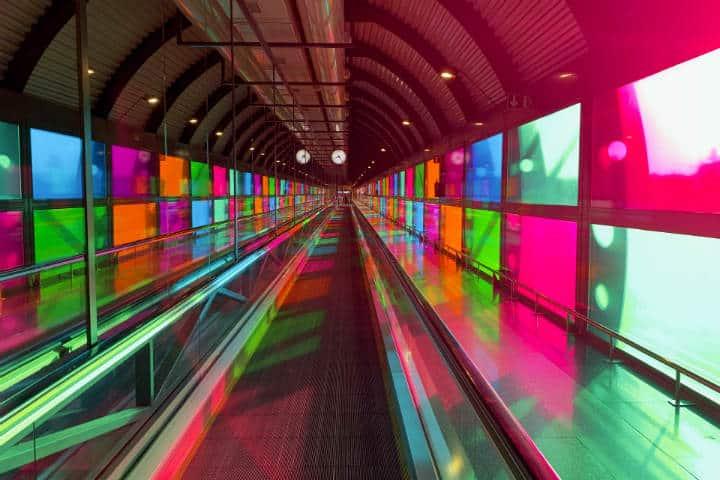 Aeropuerto de Madrid. Foto: Sem