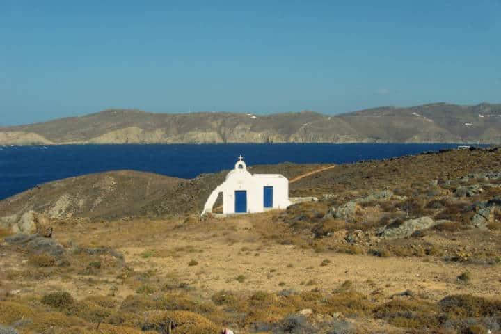Agios Sostis. Foto Nick Papanicolaou