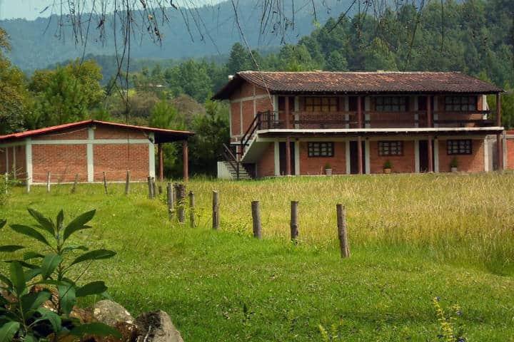 Club Campestre Paraíso Monarca. Foto Lucas Aporito Michoacan