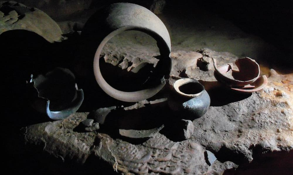 Cueva de Actun Tunichil Mukna Foto. Jkolecki