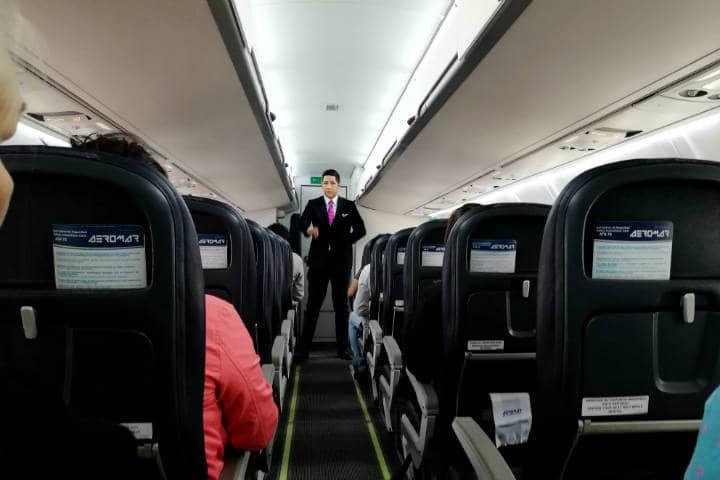 Mi primer viaje en un avión de turbohélice Foto. Julio García Castillo