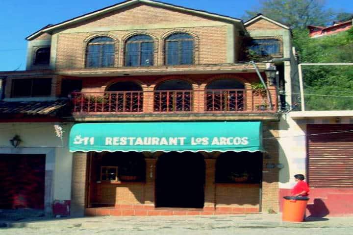 Restaurante Los Arcos.