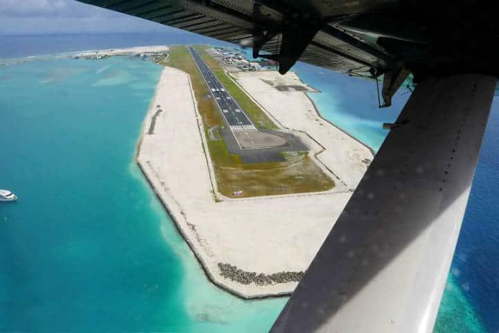 Male, Maldives airport. Foto Timo Newton-Syms