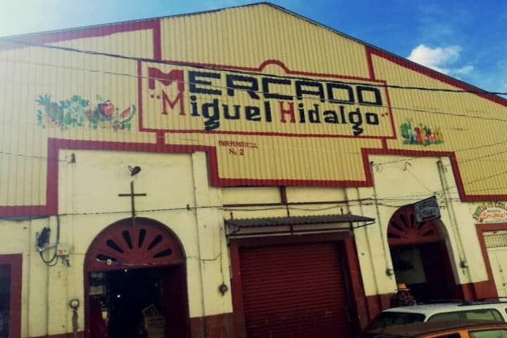 Mercado de Angangueo. Foto Flor Matiis