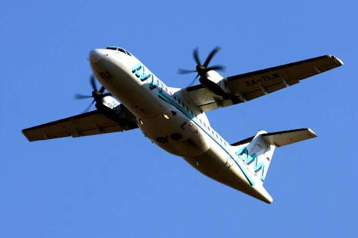 Mi primer viaje en un avión de turbohélice Foto Peter Webber