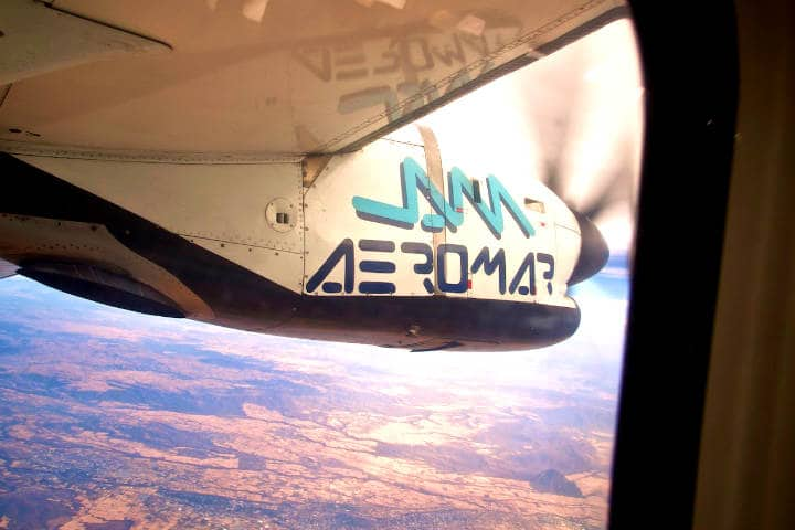 Mi primer viaje en un avión de turbohélice Foto Waywuwei