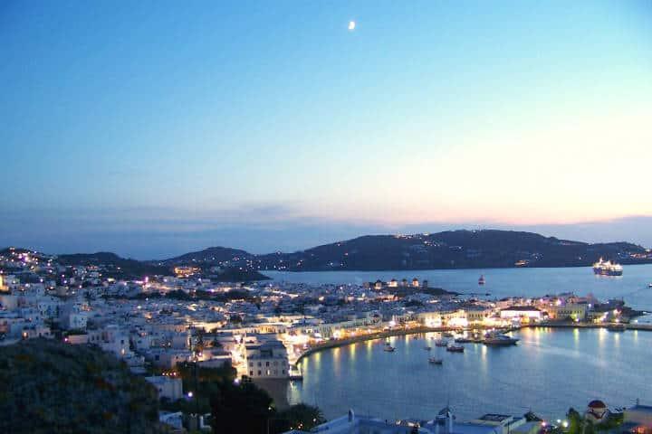 Mykonos, Grecia. Foto Pixabay
