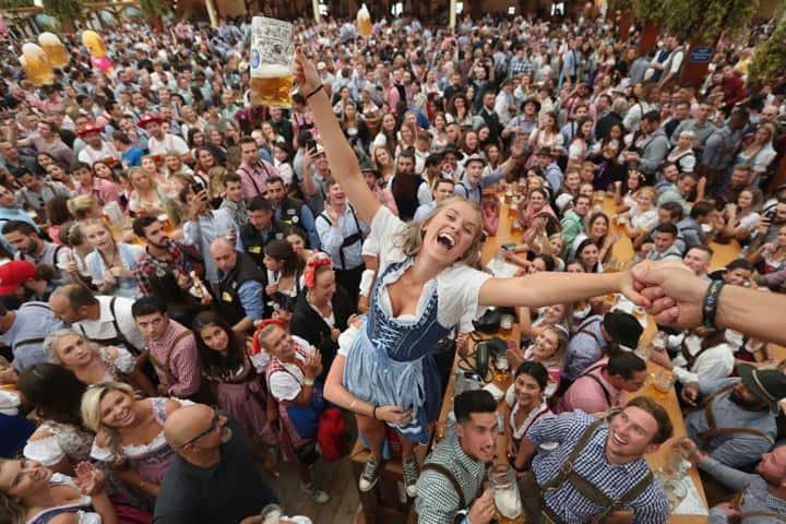 Oktoberfest, CDMX Foto Rediff