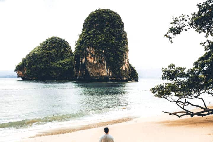 Playas en Railay Tailandia. Foto: Jose Llamas