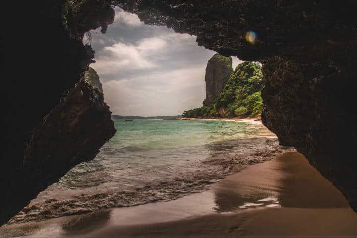 Playas en Railay Tailandia. Foto. Kevin Bosc 3