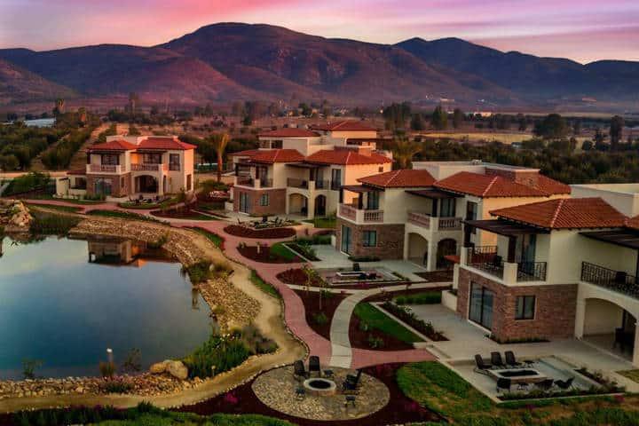 Winery & Resort. Foto Ensenada, Baja California