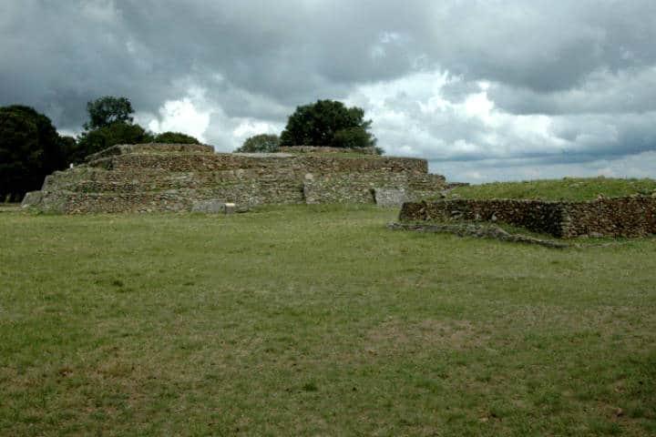 Zona Arqueológica de Huamango Foto Programa destinos México