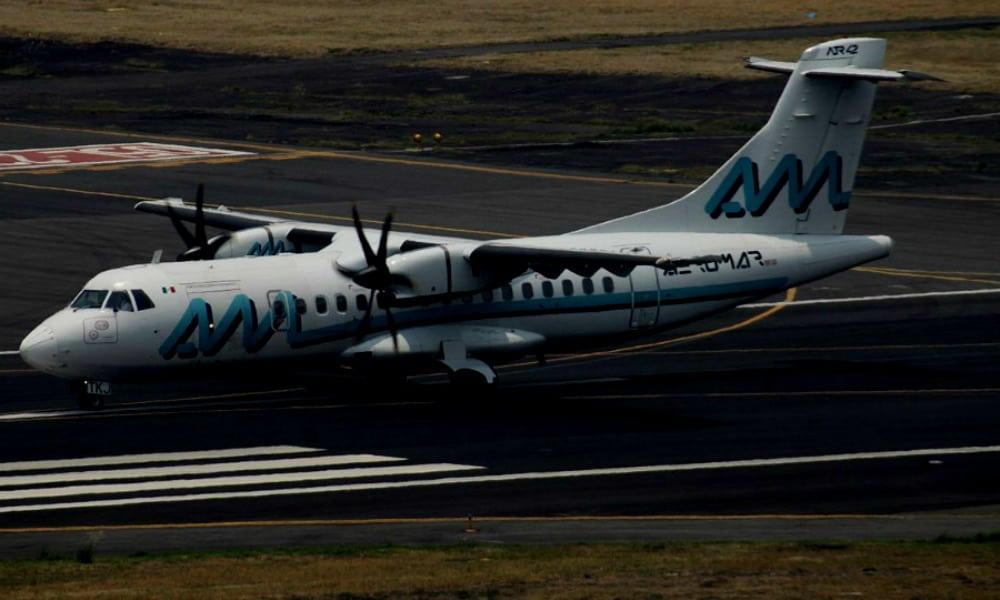 Mi primer viaje en un avión de turbohélice Foto. Aeromar