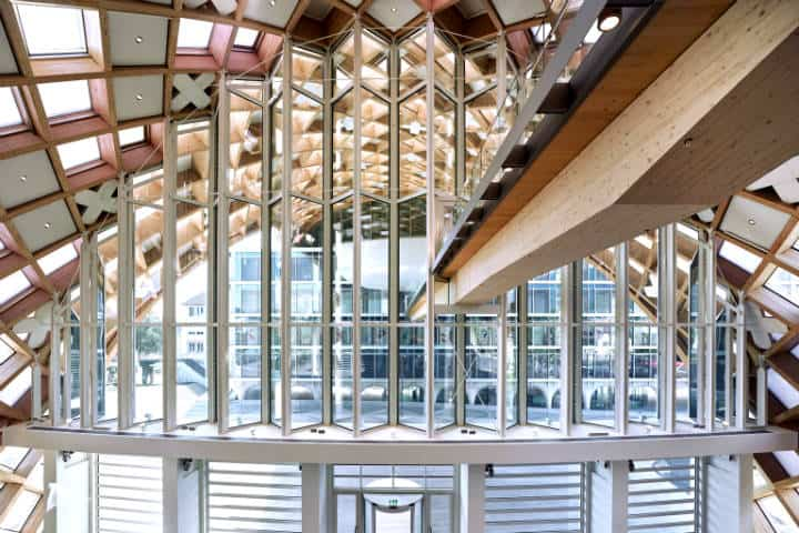 Edificio de Swatch en Bienne,Suiza Foto Swatch Inaugurates