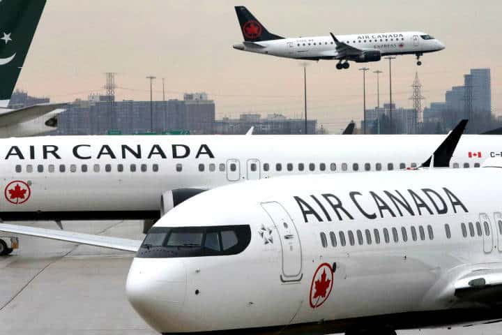 Air Canada beca a futuras pilotas aviadoras Foto Returners India
